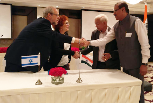 Welingkar signs agreements with two Israeli universities
