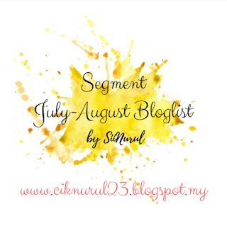 Segment July-August Bloglist By Sii Nurul