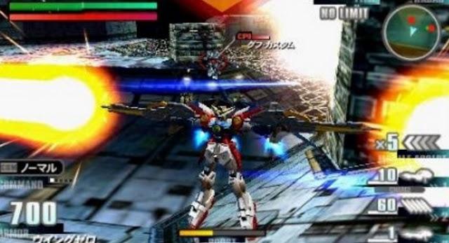 Game Gundam PPSSPP PSP