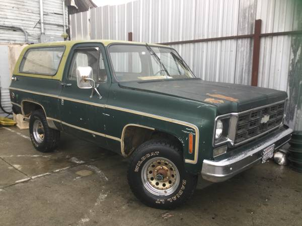 Rare Option, 1977 K5 Blazer 4x4