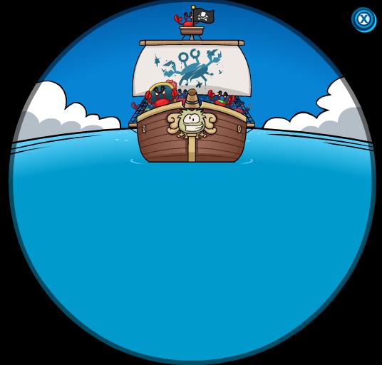Los Cangrejos se Acercan a la isla!