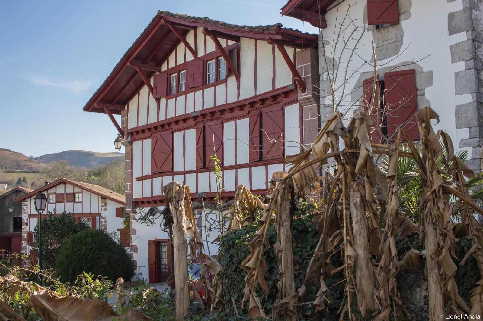 Patrimoine pays basque le village d 39 ainhoa - Office du tourisme du pays basque ...