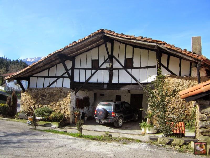 Barrio Altzuste en Zeanuri (Bizkaia)