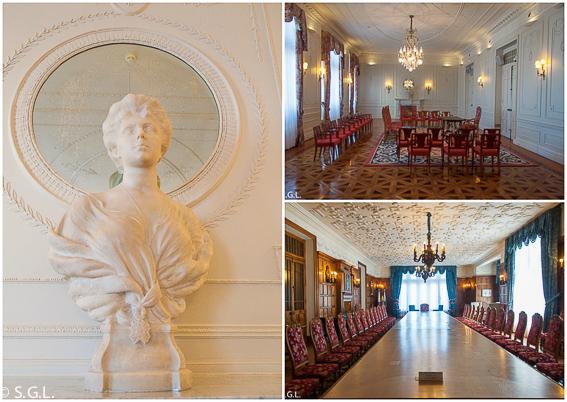 Interior Palacio Magdalena. Santander