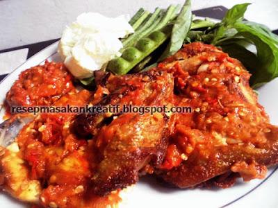 Resep Ayam Penyet Goreng dan Sambal Penyet