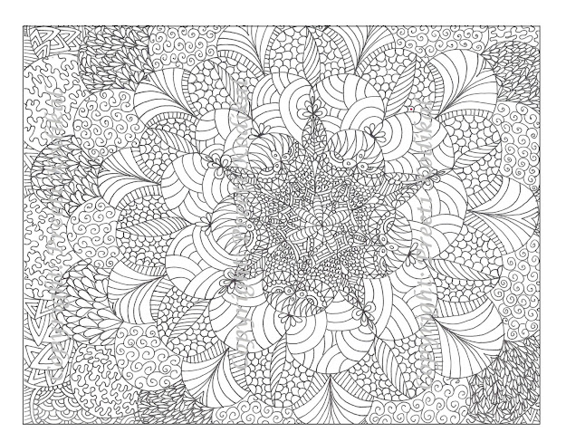Detailed Coloring Pages Printable
