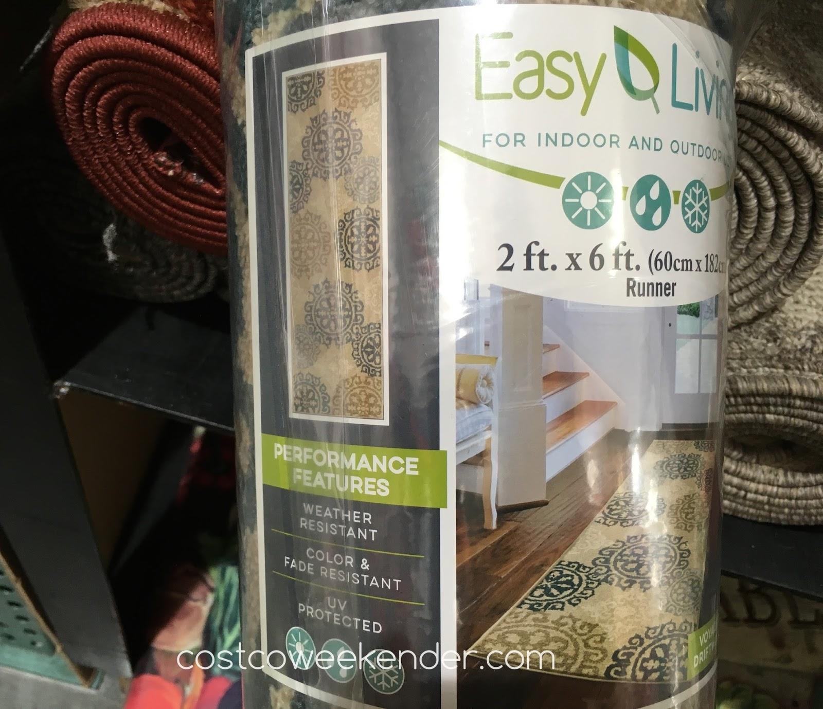Orian Easy Living Indoor Outdoor Runner 2 X 6 Costco