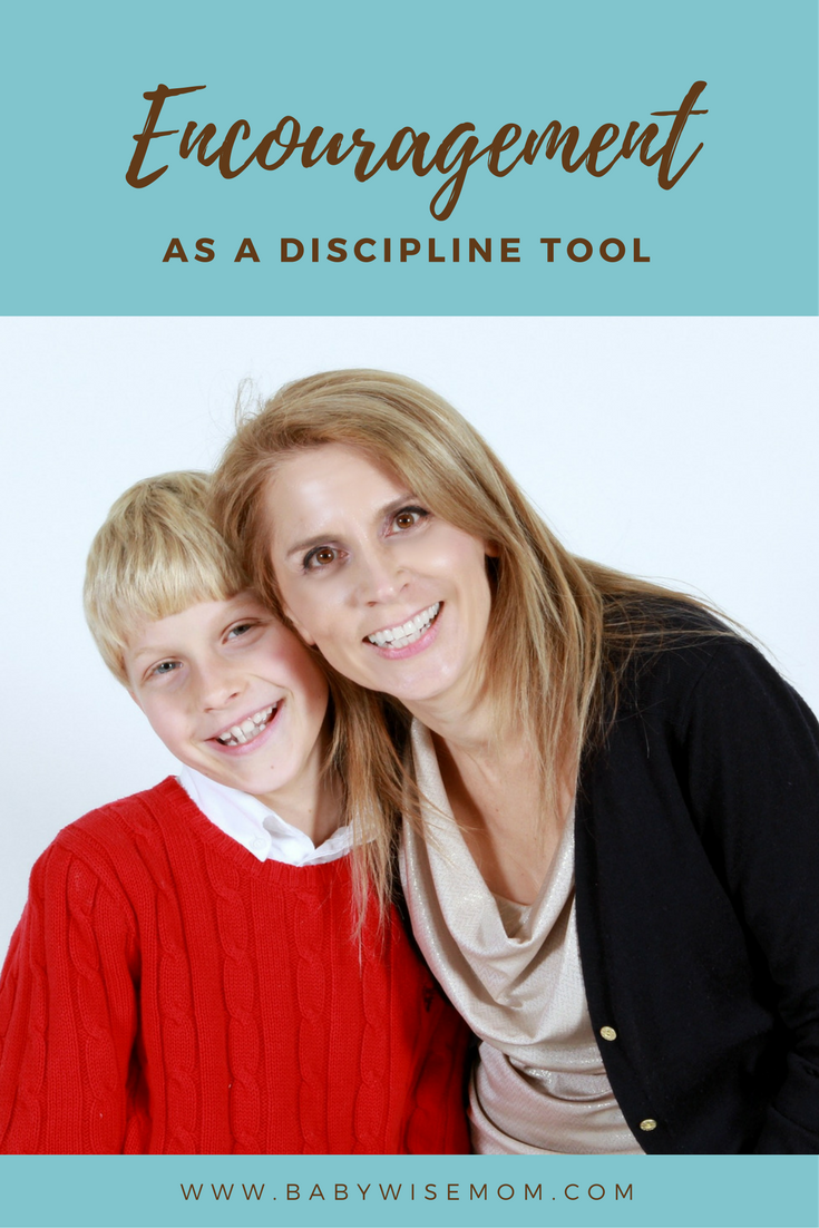 Encouragement as a Discipline Tool