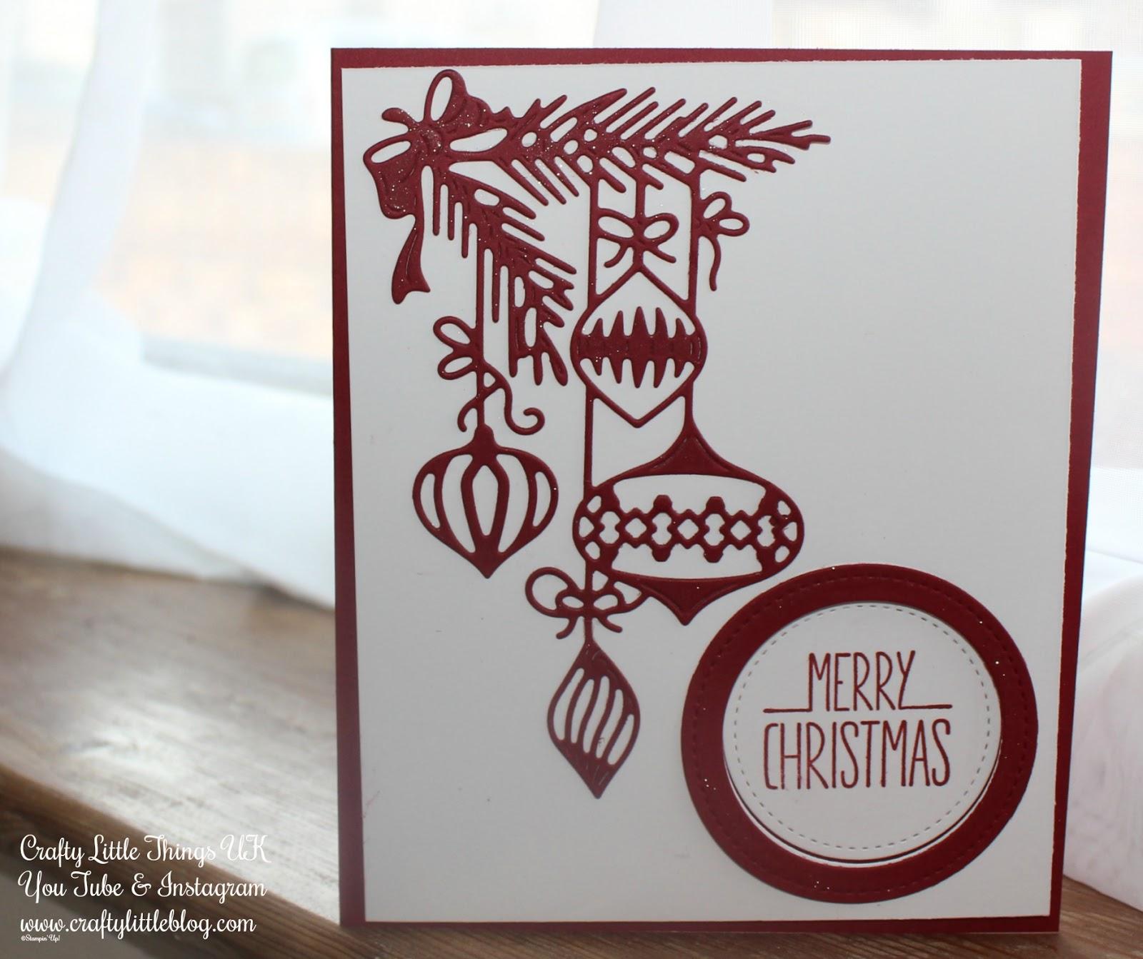 Crafty Little Blog: Christmas Card Number 8
