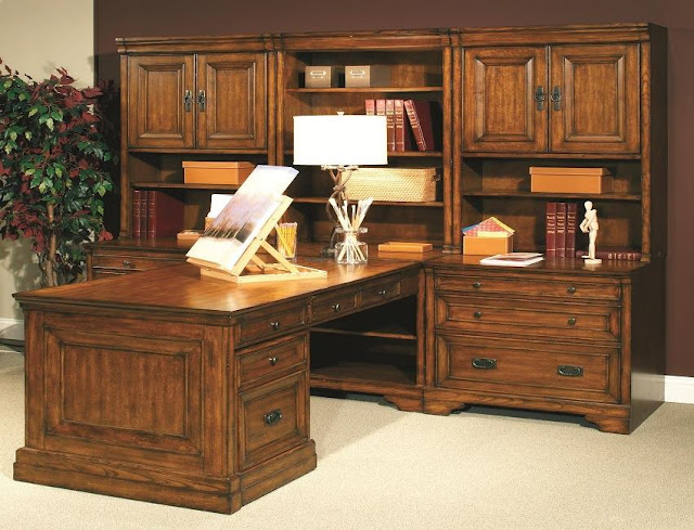 best solid wood home office furniture storage and desk design ideas