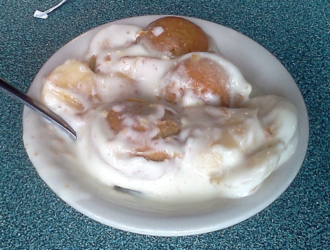 Banana Pudding from The Cottage Restaurant in Memphis, TN