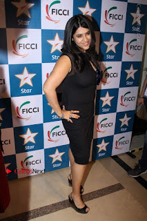 Ekta Kapoor Anurag Kashyap & Ramesh SippyAt at FICCI FRAMES 2017  0029.JPG