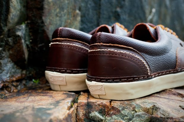 Look for the Vans Vault Era Horween LX to release at select Vans Vault  retailers this fall. f3a7e6ff8
