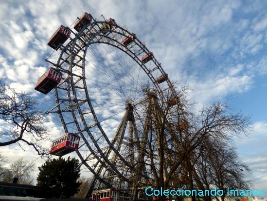 Prater - parque de atracciones más antiguo del mundo - visitar Viena en 3 días