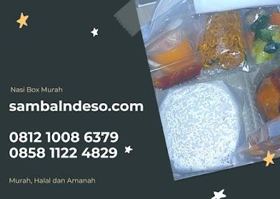 harga Nasi box murah daerah Pamulang