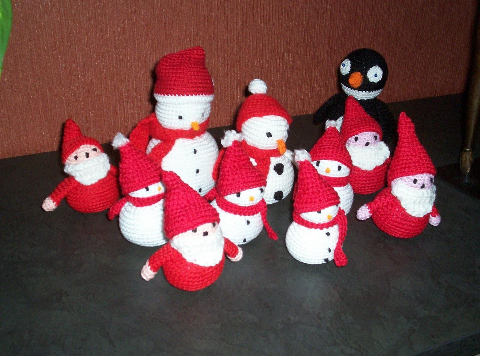 Amigurumi Bug Christmas Crochet 2 Haken Voor Kerst 2