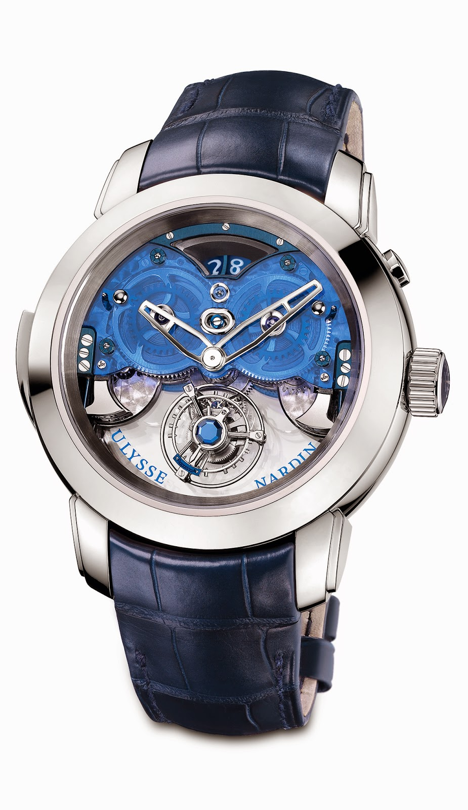Imperial Blue de Ulysse Nardin 1