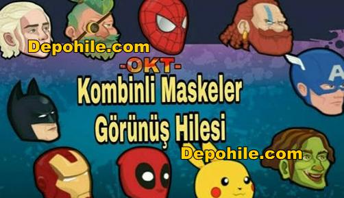 OKT 11 Tane Kombinli Maske Görünüş Hileli Apk 24.09.2018