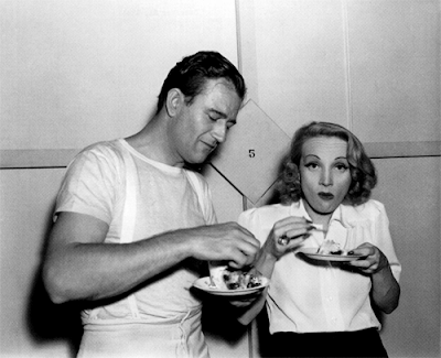 Marlene Dietrich detrás de las cámaras
