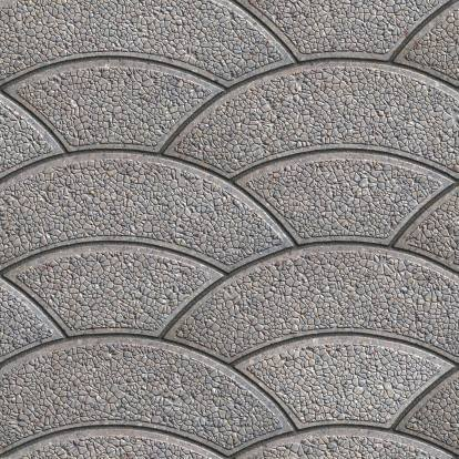 paving motif lengkung unik
