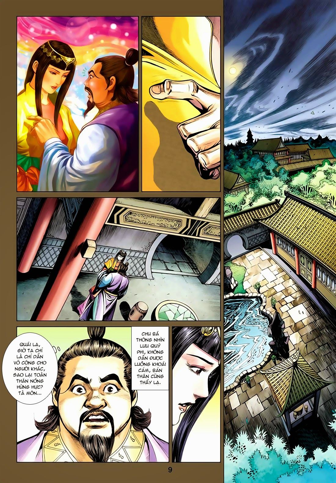 Anh Hùng Xạ Điêu anh hùng xạ đêu chap 77: thế thượng tối cường võ công trang 9