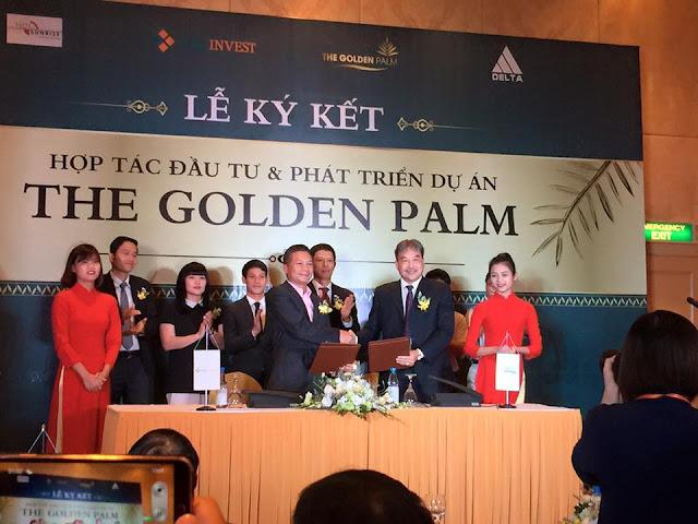 Ký kết dự án the golden palm