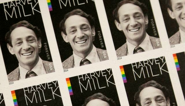 Sello de Harvey Milk