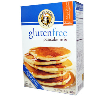 فطيرة البانكيك من اي هيربKing Arthur Flour, Gluten Free Pancake Mix, 15 oz (425 g)