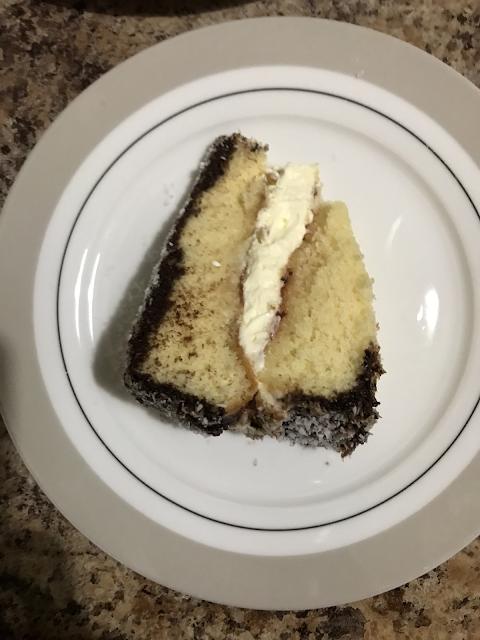 Fluffy Slice Gluten Free Lamington Sponge Cake