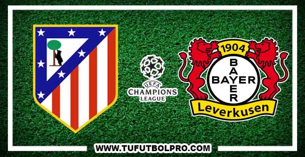 Ver Atlético Madrid vs Bayer Leverkusen EN VIVO Por Internet Hoy 15 de Marzo 2017