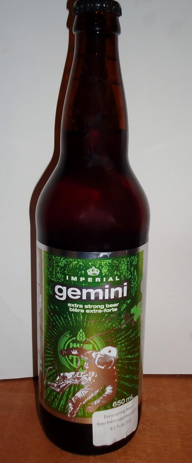 The Pint Jockey Online: Beer # 52 Gemini