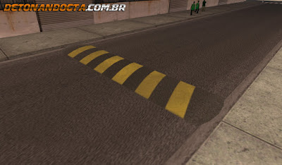 Lombadas Brasileiras (By MixMods) para GTA San Andreas