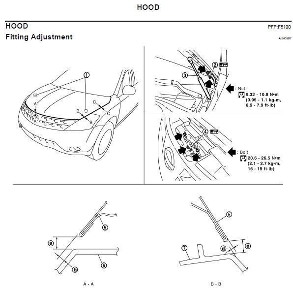 Repair Manuals Nissan Murano Z50 2005 Repair Manual