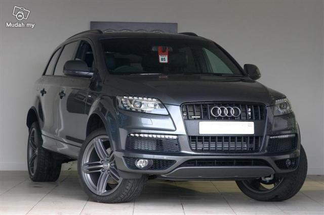 Carz Work In Progress Stay Tuned Audi Q7 3 0t Petrol S