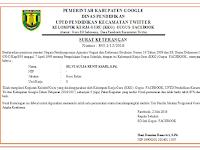 Aplikasi Cetak Piagam/Sertifikat KKG Format Excel Gratis
