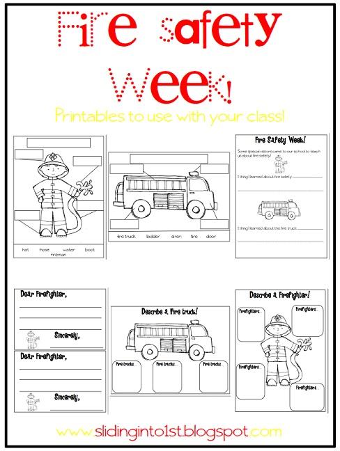 Free Fire Safety Printables For Kindergarten - K5 Worksheets