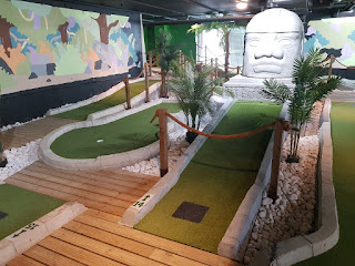 The Jungle Rumble Adventure Golf courses in Leeds were the 822nd and 823rd visited on our Crazy World of Minigolf Tour