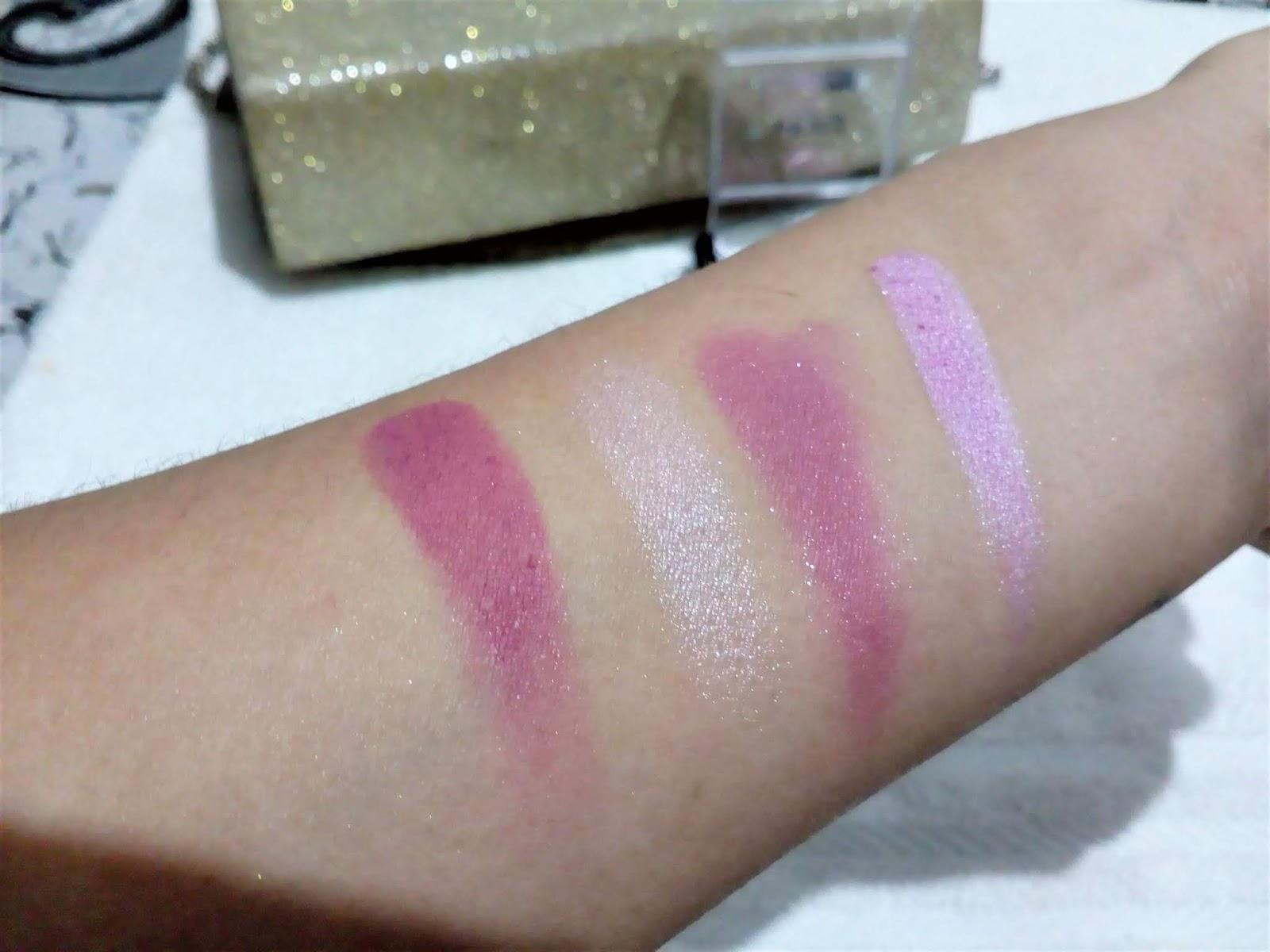 Resenha: Quarteto de sombras da Mori Makeup