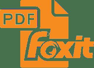 تحميل برنامج قارئ الكتب الالكترونيه  foxit reader