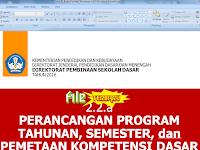 Download Contoh Pemetaan KD Kurikulum 2013 SD Beserta Prota dan Promes