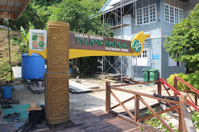 Selamat datang di Pulau Talang Satang National Park