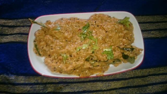 plantain curd chutney aritikaya pachchadi