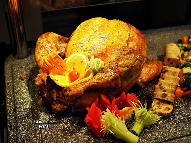 ONE WORLD HOTEL PETALING JAYA - CHRISTMAS Menu - Roasted Turkey with Honey, Herb and Chestnut Stuffing