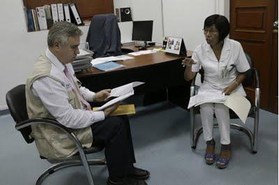 Susalud supervisó Hospital Nacional Dos de Mayo