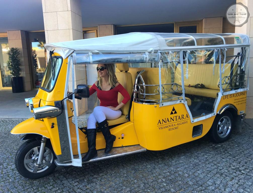 Anantara Vilamoura Algarve Resort tuk tuk