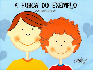 Capa do livro A FORÇA DO EXEMPLO