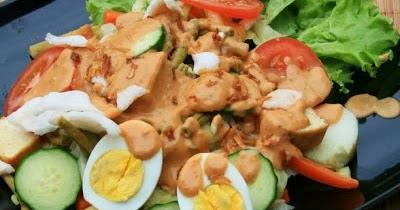 Gado Gado Betawi Vegetarian Food Indonesian Original Recipes