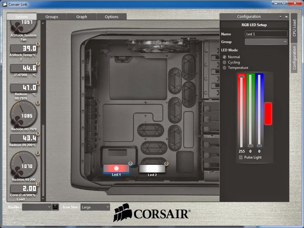 Quick Review: Corsair Link Lighting Node 35