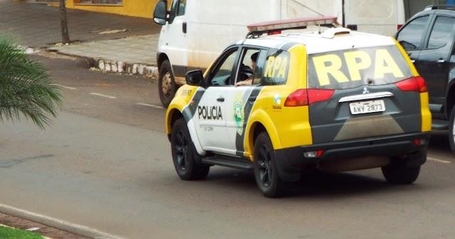 PM registrada caso de ameaça e violência doméstica em Borrazópolis