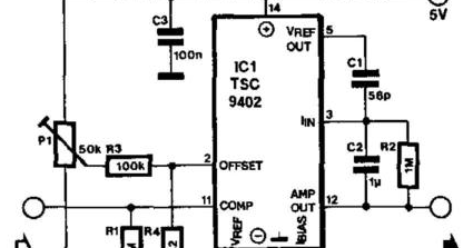 Simple Frequency Voltage Converter Circuit Diagram